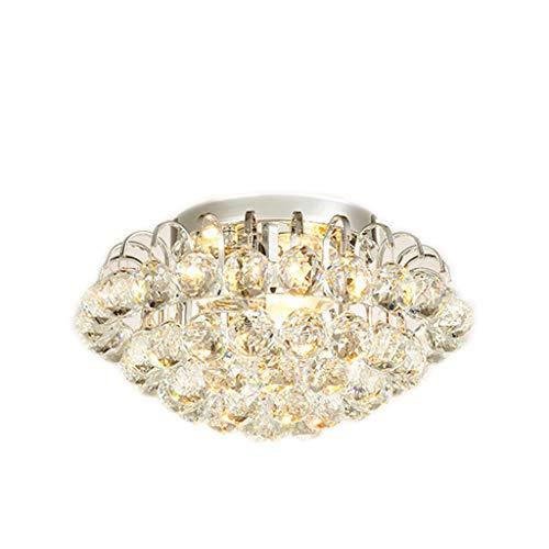 Lámpara de techo Brillante Plafón 36 / 44cm Redonda lámpara de Cristal...