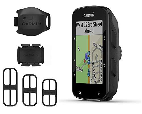 Garmin Edge 520 Plus GPS Cycling Computer and Garmin Bike Speed Sensor and Cadence Sensor 2nd Gen Bundle