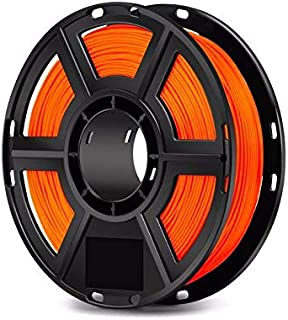 WOL 3D Flashforge PLA 3D Printer Filament, 1.75 mm, Orange