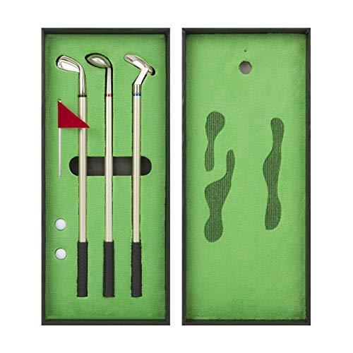 Golf Pen Set, Mini Desktop Golf Ball Pen, Top Golf Gift with Putting...