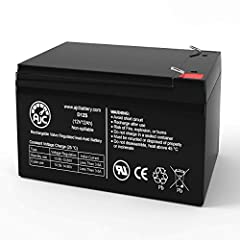 This is an AJC Brand Replacement for a IBT Technologies BT12-12 12V 12Ah Sealed Lead Acid Battery Voltage: 12V (12 Volts) Capacity: 12Ah Terminals: F2