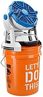 Arctic Cove MBF0181 18-Volt Two Speed Misting Bucket Top Fan by Arctic Cove