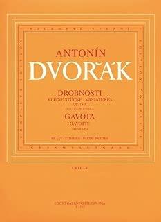Dvořák: Four Miniatures, Op. 75a and Gavotte, B 164