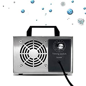 immagine di Dpower generatore di ozono domestico o commerciale ,generatore di ozono industriale 10.000mg-28.000mg / HR, con timer, certificazione CE, sterilizzazione e attrezzature per la disinfezione (28G)