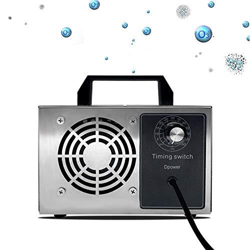 Dpower generador de ozono domestico y Profesional,10,000mg -28,000mg/ HR Generador de ozono Industrial Asesino de olores con Temporizador Equipo de esterilización de desodorización Comercial