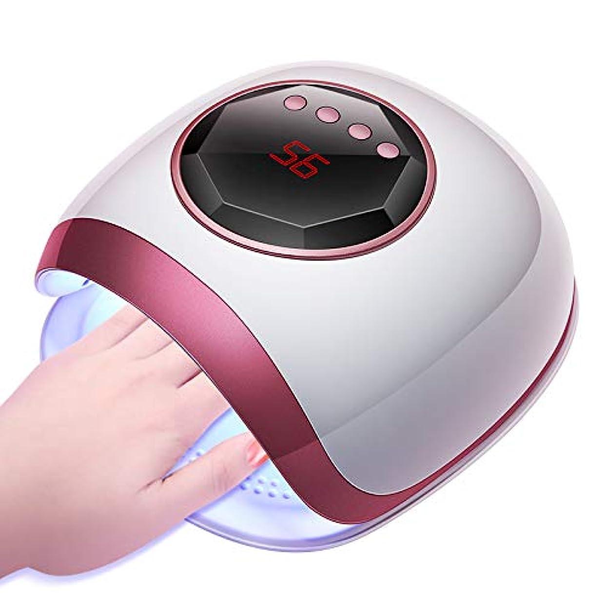 排出自動スティーブンソンネイルドライヤーネイルライト72ワット30 ledライト用センサータイマー付きホームランプサロン指の爪を使って