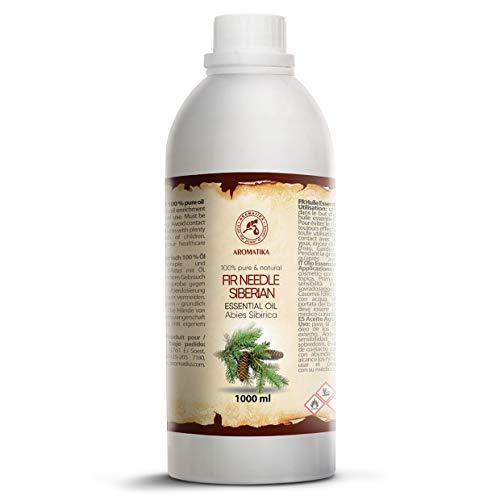 Aceite Esencial de Aguja de Abeto Siberiano 1000ml - Abies Sibirica -...