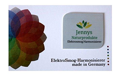 Elektrosmog Harmonisierer von Jennys Naturprodukte - Wirksamer Schutz vor Elektrosmog - sehr flach - selbstklebend