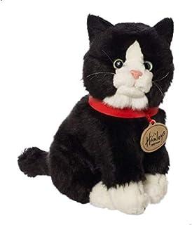Hamleys 296665 Sitting Cat Soft Toy - Black