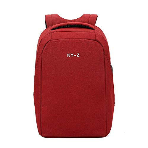 Jejhmy Reisen Mode Lässig Outdoor Schule Kreativer Rucksackbusiness Computer Tasche Rot 42 * 30 * 12Cm