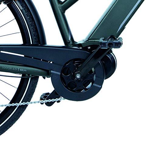 FISCHER Damen – E-Bike Trekking VIATOR 4.0i (2020), grün matt, 28 Zoll, RH 44 cm, Mittelmotor 50 Nm, 48 Volt Akku im Rahmen Bild 4*