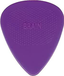 D'Andrea Snarling Dog Brain Nylon Guitar Picks 72 Pack Refill (Purple, 0.60mm)
