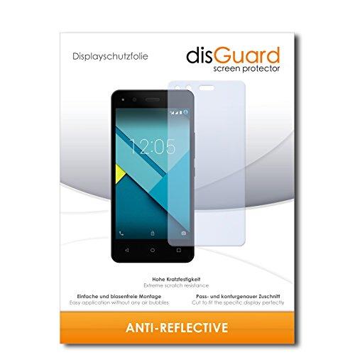 disGuard Bildschirmschutzfolie für BQ Aquarius M4.5 [2 Stück] Anti-Reflex, MATT, Entspiegelnd, Extrem Kratzfest, Anti-Fingerabdruck - Bildschirmschutz, Schutzfolie, Panzerfolie