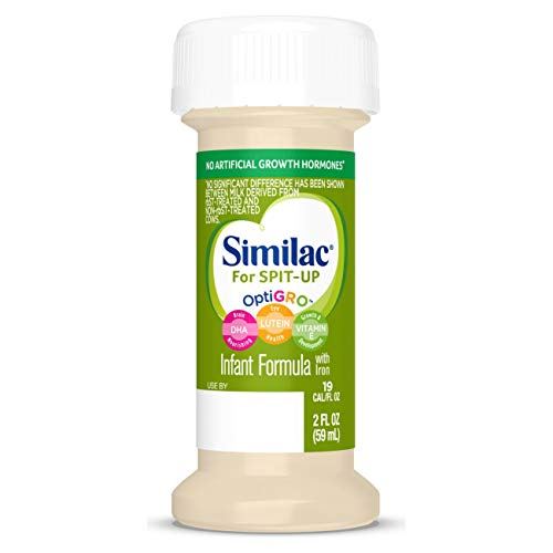 Similac for Spit-Up, 48 Bottles, Easy-to-Digest Infant...