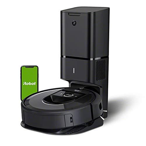 ルンバi7+ アイロボット 最新のロボット掃除機 自動ゴミ収集 水洗いできるダストボックス wifi対応 スマー...