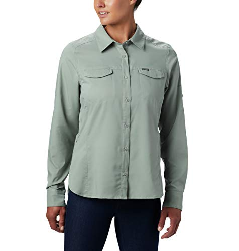 Columbia Silver Ridge Lite - Camisa de Manga Larga para Mujer, diseño...