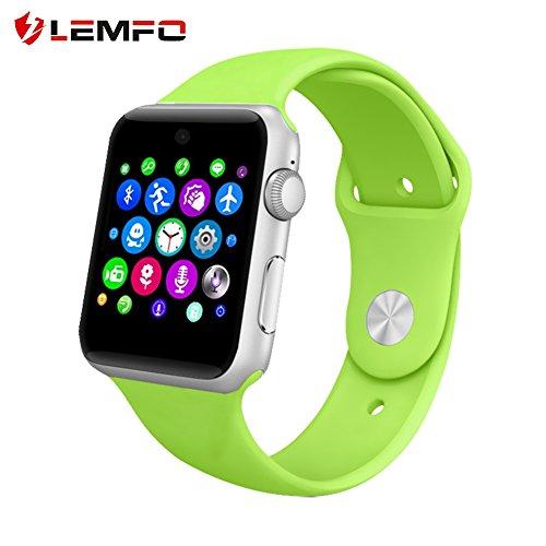 lemfo lf07Bluetooth SmartWatch Unterstützung SIM-Karte Tragbar Geräte Fitness Tracker für iOS Android Smartphone
