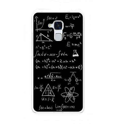 Tumundosmartphone Funda Gel TPU para Huawei Honor 5C / GT3 diseño Formulas Dibujos