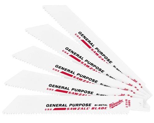 Preisvergleich Produktbild Milwaukee 48-00-5091 45242082759 Säbelsägeblatt Universal,  Weiß