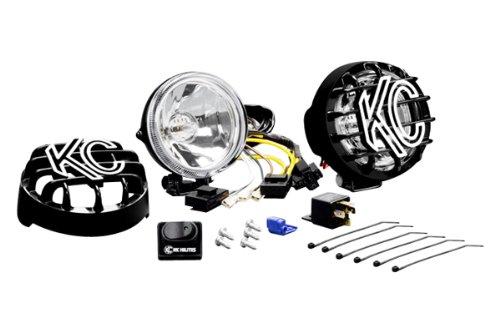 KC HiLiTES 490 Rally 400 4' 55w Driving Light System,Black