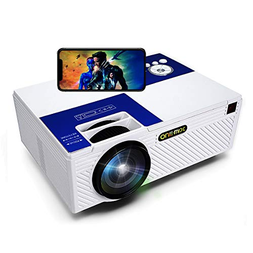 Mini Projector  HD Lumens Home Video Projector   Outdoor Projector Theater Projector 1080P Full HD   HDMI AV USB Micro SD for Home Entertainment, Party