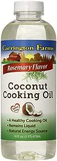 Carrington Farms Coconut Cooking Oil, Rosemary Flavor, 16 Ounce by Carrington Farms