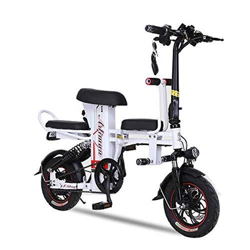Bicicleta eléctrica plegable Portátil y fácil de almacenar 14 pulgadas 150 kg...