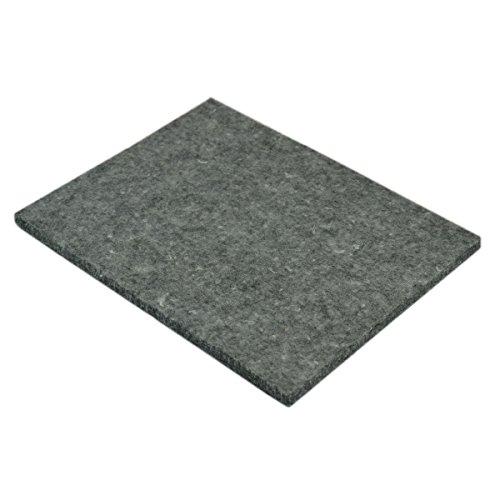Piccolino Bastelbedarf Prickelfilz 200x150x10mm - Filzunterlage grau, Unterlage zum Prickeln & Filzen