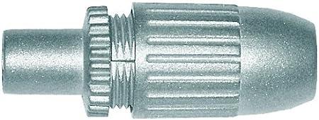 Axing Cks 5 00 Iec Stecker Koax Stecker Hochgeschirmt Elektronik
