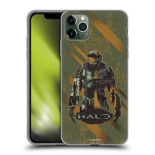 Head Case Designs Officially Licensed Xbox Game Studios Halo Infinite Hope 20th Anniversary Soft Gel Case Compatible with Apple iPhone 11 Pro Max