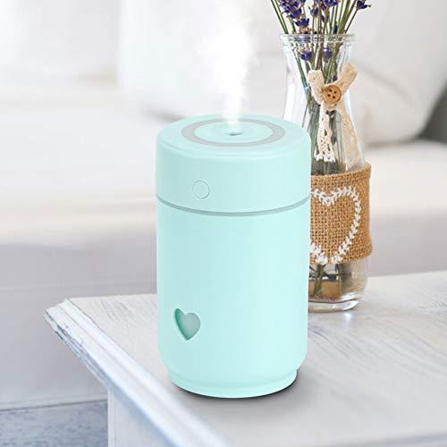 AUNMAS Koele mist luchtbevochtiger 220 ml draagbare nachtlamp USB mini luchtbevochtiger reiniging voor kantoor thuis slaapkamer decoratie