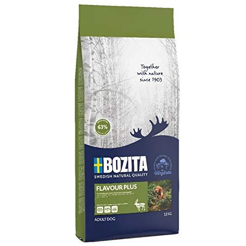 24kg Bozita Naturals Flavour Plus 2x12kg | mit Rentier & frisch. Hühnchenfleisch