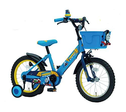 きかんしゃ トーマス 16インチ 子供用自転車 〈完成品〉