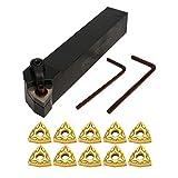 Set de Brocas para Tornos Torneado Herramienta Metal CNC con Insertos de Carburo Equipo de Industrias