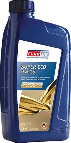 EUROLUB SUPER ECO SAE 0W-16 Motoröl, 1 Liter