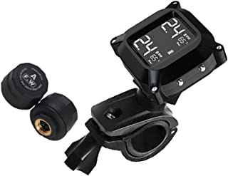 VICASKY Sensor de Pressão Dos Pneus Monitor de Pressão Dos Pneus Do Motor da Motocicleta Sistemas de Monitoramento da Pres...