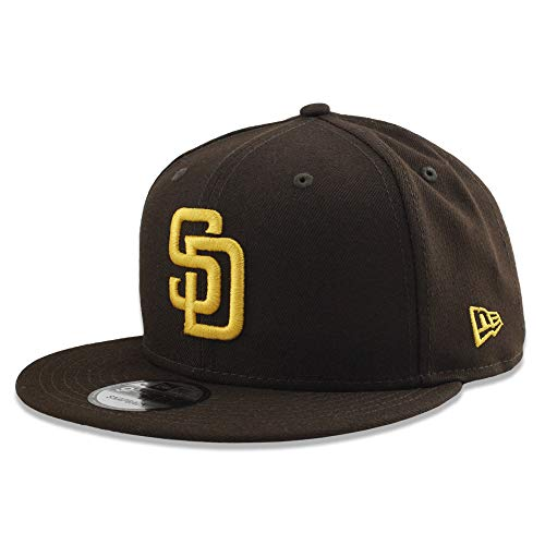 New Era San Diego Padres Basic 9FIFTY Snapback Brown