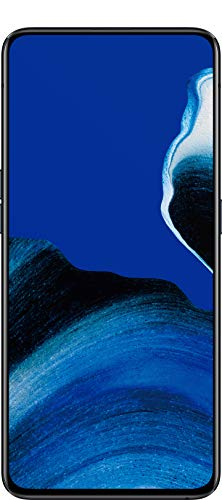 "Oppo Reno 2 - Smartphone de 6.55"" AMOLED, 4G Dual Sim, 8GB/ 256GB, Qualcomm Snapdragon 730G, cámara trasera 48 MP + 8 MP (gran angular) + 13 MP + 2 MP, 4.000 mAh, Android 9, negro (Luminous Black)"