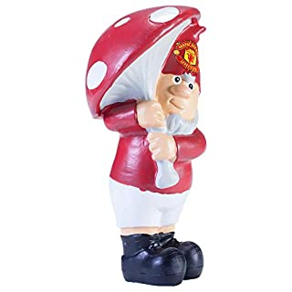 Manchester United Mushroom Garden Gnome