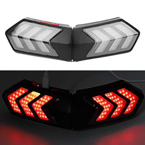 Bediffer Überlegenes kabelloses Licht Erkennbares Warnlicht Robust für Langstreckenfahrten für Straßenfahrten für Komfortables Fahren bei Nachtfahrten