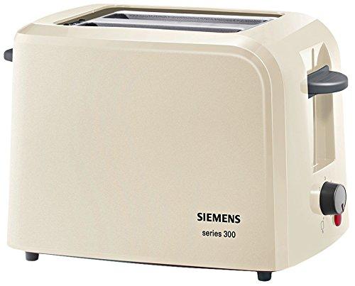 Siemens TT3A0107 - Tostador (2 rebanada(s), Gris, De plástico, 980 W, 220-240 V, 1 m)