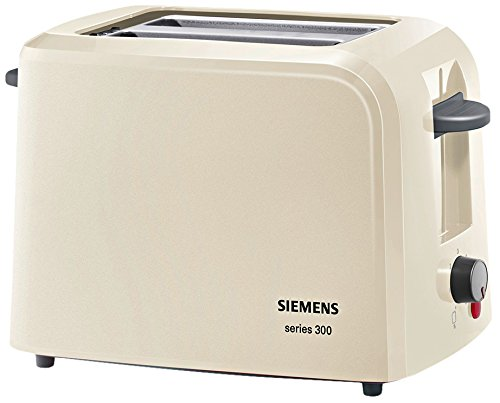 Siemens TT3A0107 Kompakt Toaster Series 300, creme