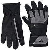 Quiksilver Men's Gates-Snowboard/Ski Gloves, True Black, L
