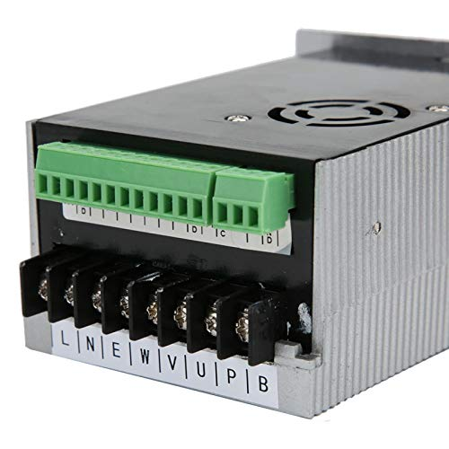 Convertidor de frecuencia monofásico de caja de aluminio Convertidor de frecuencia 220VAC para compresor de aire para mezclador para micro motor