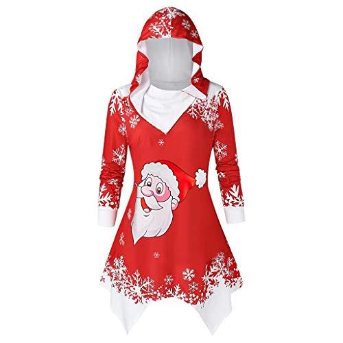 ROVNKD Weihnachten socken Kleider fur hochzeitsgaste Abendkleider elegant fur Hochzeit Knielang Kleider fur mollige Frauen
