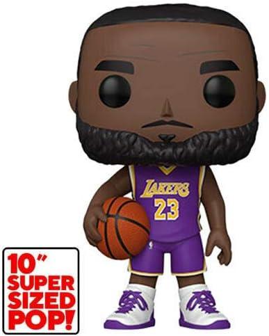 Lebron James Los Angeles Purple Jersey #98 Super ... - Amazon.com