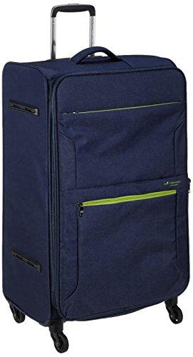 [ヒデオワカマツ] スーツケース ソフト フライエア 超軽量 無料預入 拡張時88L 85-95860 80L 77 cm 3.1kg ネイビー