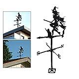 QPLKL Windspiele Wetterwetterwetterwetterwetter-Hexe für Ihr Zuhause, Garage, Kuppel, Scheune oder Pavillon Heimtextilien