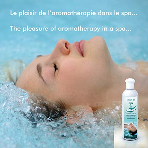 Camylle - Hot Tub Fragrance Eucalyptus - Fragrances Made from 100% Pure and Natural Essential Oils for Spas or Jacuzzis - Respiratory with Fresh penetrating Aromas - 250ml