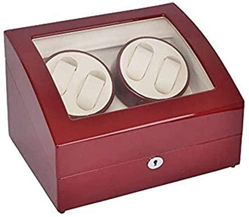 Relojes de exhibición de la joyería reloj automático de la caja de la bobina del reloj de la coctelera del reloj mecánico de la coctelera